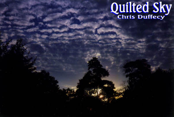 Quilted Sky CD Cover Art  -  (c)2001 Chris Duffecy